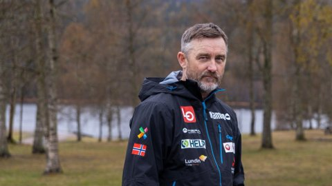 PÅ VEI UT: Skiforbundet ønsker ikke forlenge avtalen med nåværende hoppsjef Clas Brede Bråthen.