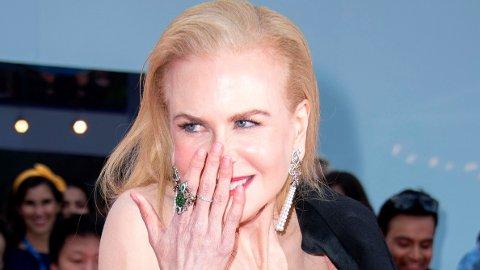 Nicole Kidman på den røde løperen i sammenheng med premieren til «The Goldfinch» i 2019.