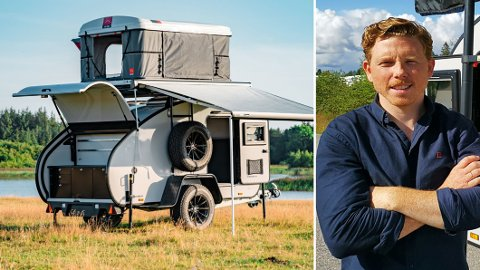 Stadig flere nordmenn har fått øynene opp for denne type camper. Nå forteller Jermund Udnæseth om rekordhøyt salg av Hero Camper, så langt i år.