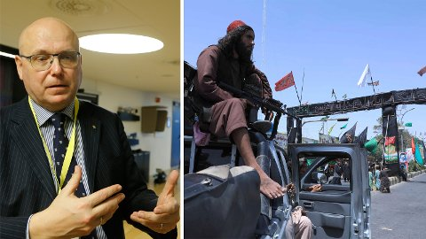 Terrorforsker Magnus Ranstorp er klar på at verden nå er mer usikker, etter at Taliban har tatt styringen i Afghanistan.