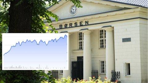 GODE TIDER: Selskapets aksjekurs har doblet seg det siste året. Her er kursutviklingen i år.