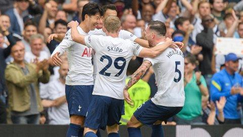 TREDJE STRAKE: Tottenham leverte en ny god forestilling og vant 1-0.