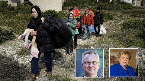 Afghanistan-ekspert Kristian Harpviken sier hundretusenvis nå flykter fra landet, mens Jonas Gahr Støre tror ikke på en ny flyktningbølge med det første.