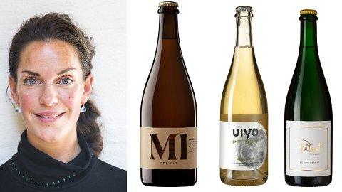 TRENDY: Vinekspert Sara Døscher tar deg gjennom det du trenger å vite om de populære vinene.