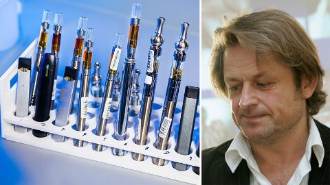 ADVARER MOT FORBUD: Folkehelseinstituttet og FHI-forsker Karl Erik Lund er svært skeptisk til lovforslaget om å heve aldersgrensen for e-sigaretter til 25 år og å forby andre e-væske smaker enn tobakksmak.