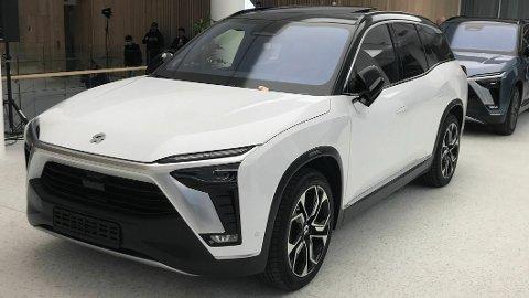 OFFENTLIGGJØR PRISEN: Nio har akkurat sluppet prisene på sin elektriske SUV ES8. De starter på 609.000 kroner.