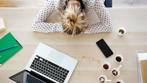 PAUSER VIKTIG: Litt stress er ikke farlig, men det kan det bli når det går lang tid uten at du får noen pause.
