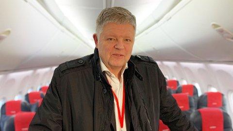 Jacob Schram, konsernsjef i Norwegian Foto: Halvor Ripegutu
