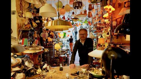 Torkel Sand har gjort hobbyen om til fulltidsjobb og har nå åpnet butikk. Her tatt ved en tidligere anledning.