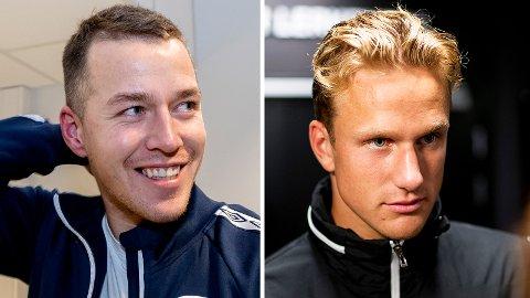 JAKTES: Rosenborg-unggutten Erik Botheim og Ranheim-profil Michael Karlsen er etter det Nidaros vet navn Kristiansund har på blokka.