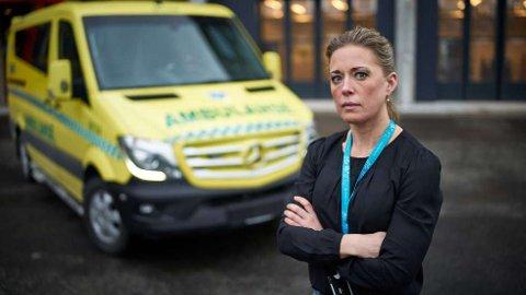 BEKLAGER: Kommuneoverlege Sunniva Jansdotter Nydahl Rognerud jobbet med kriseledelse fra hjemmekontor, men valgte å bruke kontoret på andre siden av riksgrensen.  FOTO: JOHAN ARNT NESGÅRD