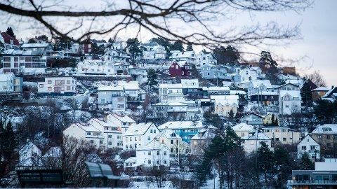 USIKKERHET: Uroen i markedene kan fort føre til at boligprisene faller, ifølge ekspertene.  Foto: Håkon Mosvold Larsen (NTB scanpix)