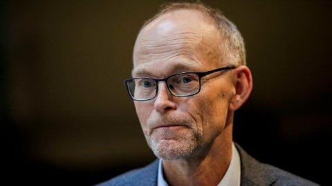 Fagdirektør i Folkehelseinstituttet, Frode Forland tror at Norge fremover kan få mindre lokale utbrudd ulike steder i landet som skal slås tilbake med omfattende testing, smittesporing og isolasjon. Foto: (NTB scanpix)