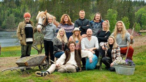 NYE «FARMEN»-KJENDISER: Allerede er nye kjendiser sendt inn på «Farmen» for å konkurrere om kampen for tilværelsen. På skjermen neste år får du se blant andre John Arne Riise, Anniken Jørgensen, Terje Sporsem og Kine Olsen.