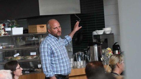 POSITIV:Tfou-direktør Øyvind Skogvold er positiv til vedtaket NTNU Samfunnsforskning, og vi ønsker å få gjort en avtale og gjennomført overtakelsen.   FOTO: MARGRETE KONSTAD