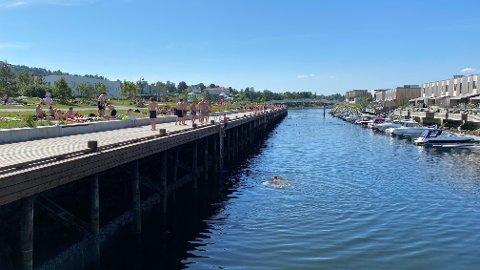 Sol og sommer: Nå kommer sommeren på en snarvisitt til Trondheim. Illustrasjonsfoto