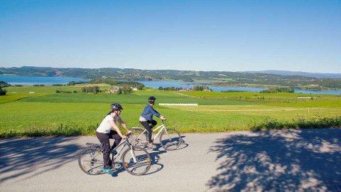 SYKKELTURISME: Flere reagerer på utålmodige turister langs den populære sykkelruten langs Den Gyldne Omvei.