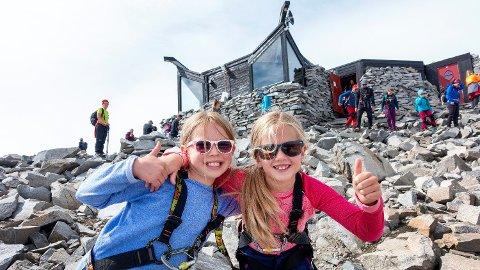 POPULÆRT: Nordmenn i hopetall har allerede lagt planer om å bestige Galdhøpiggen i sommer.