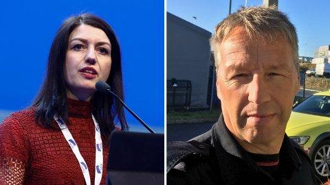 Høyrepolitikerne Guro Angell Gimse og Olav Noteng har begge sin bakgrunn fra nødetatene.