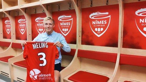 Birger Meling går fra Rosenborg og til den franske klubben Nîmes.