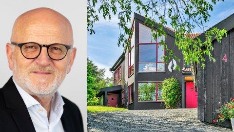 Per Oskar Olsen selger boligen på Sverresborg.