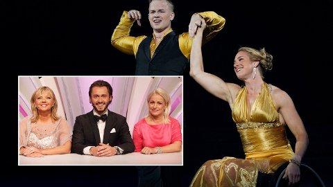 MØTT AV SKEPSIS: Birgit Skarstein ble møtt av skepsis allerede før hun fikk vist frem dansen sin på parketten. Nå går dommerne hardt ut mot skeptikerne. Foto: NTB Scanpix