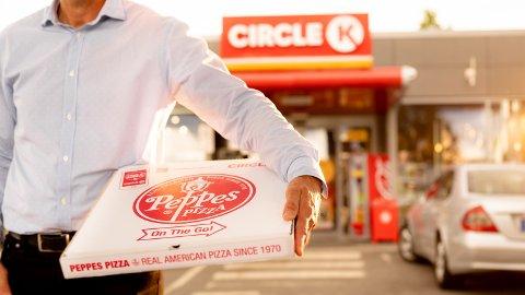 Nå får du Peppes på Circle K.