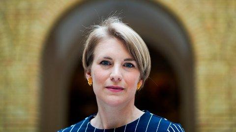 STØTTER KRF: Kari Elisabeth Kaski (SV) støtter KrFs forslag, men det er ikke nok til å få gjennomslag. Foto: Håkon Mosvold Larsen (NTB scanpix)