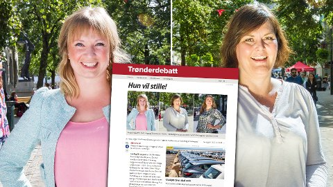GIKK TIL KAMP: Anette Ystgaard (t.v.) og Heidi Linge reagerer begge på ledervalget i Trondheim Arbeidersamfunn.