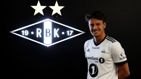 Stefano Vecchia signerte mandag for Rosenborg.