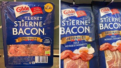 STOR PRISFORSKJELL: Få gram skiller disse to pakkene, men prisen er overraskende stor. Foto: Nina Lorvik (Mediehuset Nettavisen)