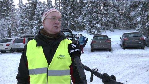 Kjell Arne synes folk har oppført seg greit i helga.