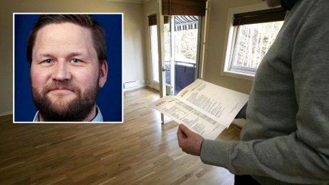 KREVER DOKUMENTASJON Jon-Steinar Hanstad (innfelt) mener at dokumentkravet til boligselgere ikke er nok. Foto: Jarl Fr. Erichsen (NTB)/John Petter Reinertsen (Nelfo)