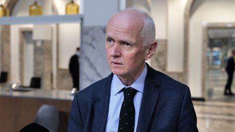 PRIVILIGERT: Assisterende direktør Geir Bukholm i FHI mener Norge er i en privilegert situasjon, og han har det ikke travelt med å anbefale en 3. vaksinedose. Foto: Henrik Wiese-Hansen (Nettavisen)