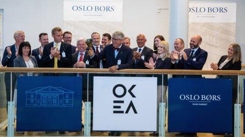 BØRSNOTERT: Oljeselskapet Okea ble børsnotert i juni 2019. Foto: Thomas Brun (NTB)