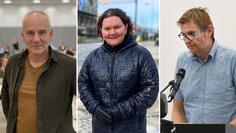 IKKE FORNØYD: MDGs Ola Lund Renolen mener det er for mye fokus på motorvei, mens Frps gruppeleder reagerer på at investeringer på riksveinettet går ned. Aps Roar Aas sier han er skuffet over at det ikke er penger til Klettkrysset.