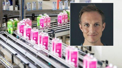 BELØNNING: Kommunikasjonsdirektør Ole Martin Buene i Tine forteller at alle ansatte får bonus i april i år. Foto: Gorm Kallestad (NTB) / Tine