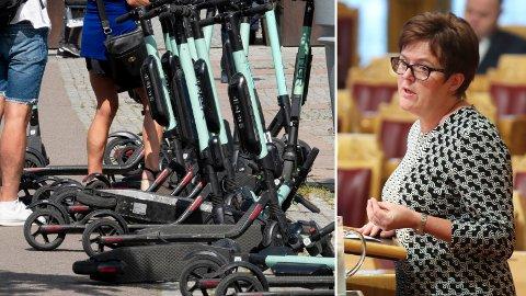 KOMMER MED FORSLAG: Stortingsrepresentant Heidi Greni (Sp) har sammen med flere fra partiet fremmet forslag i Stortinget.