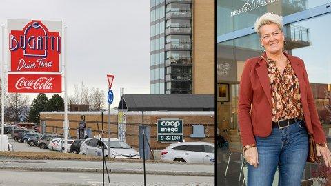 Senterleder Turid Dalen Botnan sier at butikkene ved Valentinlystsenteret er flinke til å håndheve smittevernreglene.