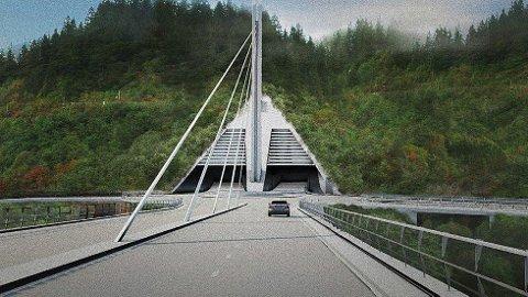 STÅR UTEN FINANSIERING: Hvis Byåstunnelen blir prioritert i den langsiktige planen, kan det gå på bekostning av andre store prosjekt og satsinger innen gang, sykkel og kollektiv.