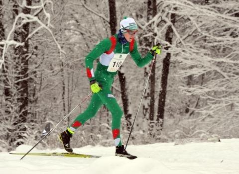 TOPP TI: : Rustad-løper Joakim Herbrandsen gikk i mål på tiden 33.59 og kom på en tiendeplass i klassen 17 år.