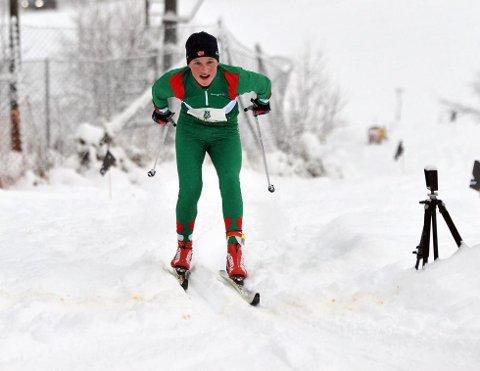 GIR HÅP: Amund Riege ønsker seg en pallplass i løpet av sesongen. (Alle Foto: Solfrid Therese Nordbakk)