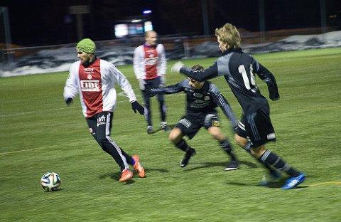 KFUM med knepent tap hjemme mot  førstedivisjonsklubben Strømmen. Foto: Aleksander Hauge