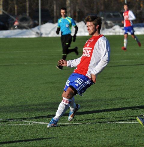 PRØVESPILL: Morten Strand fra Rosenborg har vært på prøvespill i KFUM.