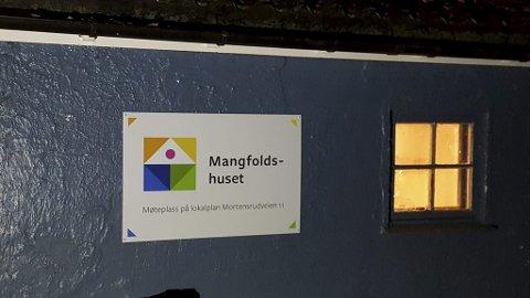 MANGFOLDSHUSET: Flerkulturelt møtested på Mortensrud. Pressefoto