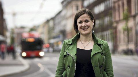 BYRÅD: Hanna Marcussen understreker at vedtaket kun får konsekvenser for byggeprosjekter som er i reguleringsfasen. Foto: Monica Løvdahl