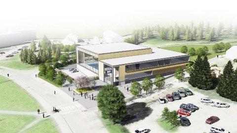 MANGLERUD BAD: Byrådet foreslår å sette av 11,2 millioner kroner til forprosjekt av nytt lokalbad på Manglerud. Illustrasjon: Asplan Viak
