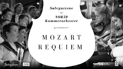 STORSLAGENT: Det blir kraftfullt, vakkert og dystert på en gang når Sølvguttene og NOR59 Kammerorkester setter opp Mozarts Requiem på tampen av januar.