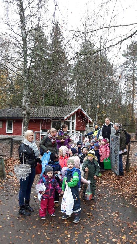 Avdelingene Regnbuetroll og Skogstroll