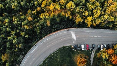 HØSTFARGER: Til helgen har du gode muligheter til å nyte høstens mange fine farger, som her ved Utsikten på Ekeberg. Yr.no melder om stor sol hele dagen, men kalde netter.
